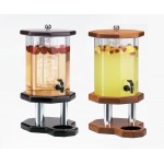 Wood Octagon Beverage Dispensers