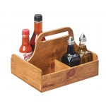 Madera 4 Section Table Caddy