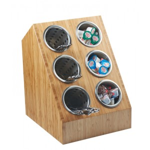 Bamboo Compartment Spacesaver