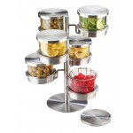 6 Tier Revolving Chilled Mixology Display