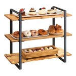 3 Shelf Black Frame Riser