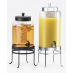 Soho Round Glass Beverage Dispensers