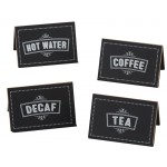 Chalkboard Beverage Signs