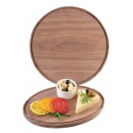 Round & Oval Walnut Boards