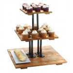 Madera 3 Tier Riser Display