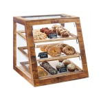 Madera Slanted Display Case