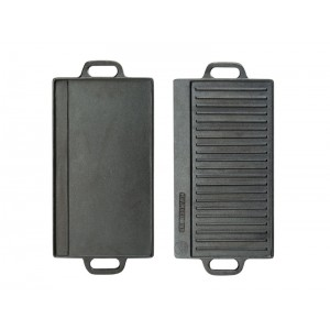 Double-Sided Cast Iron Griddle