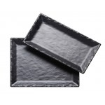 Rectangle Faux Slate Platters