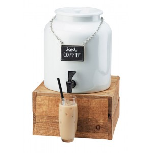 Madera Porcelain Beverage Dispenser