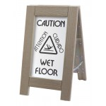 Outdoor Wet Floor Sign