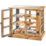 Madera Paneled Bakery Case