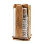 Madera Revolving Cup and Lid Organizer