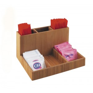 Bamboo Packet Organizer