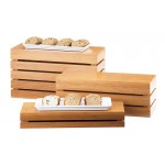 Bamboo Rectangle Crate Risers