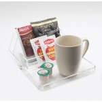 Clear Amenity Tray