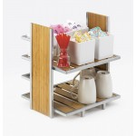 Eco Modern 2 Tier Merchandiser