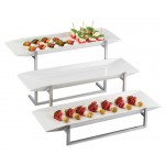Melamine 3 Platter Display