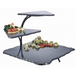 Metal 3 Tier Simulated Stone Riser